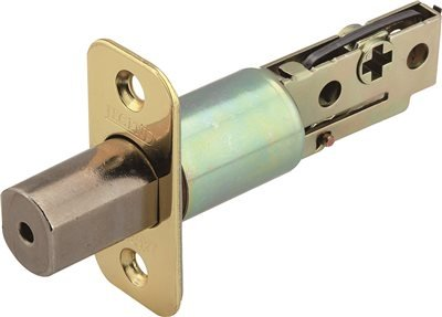 LEGEND 809147 Polished Brass Adjustable Deadbolt Latch