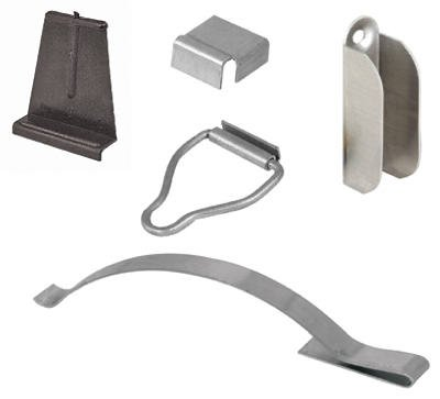 Prime Line Products PL 8141 Mill Finish Steel Screen Hanger Kit - Quantity 6