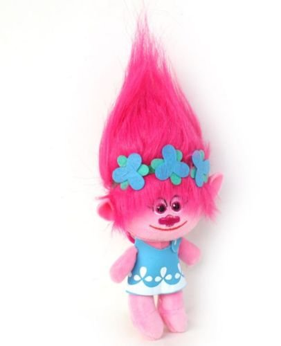Shalleen DreamWorks Movie Trolls Large Poppy Hug Plush Doll Toy Kids Xmas Gift #1 (Super Sonic Costume)