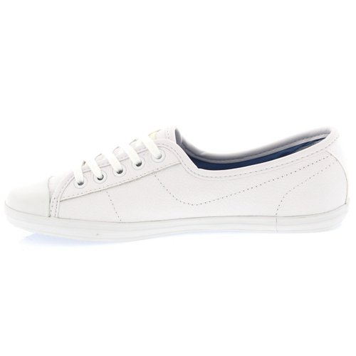 Lacoste Womens Ziane GSK Sneakers 21G White/White Size 8