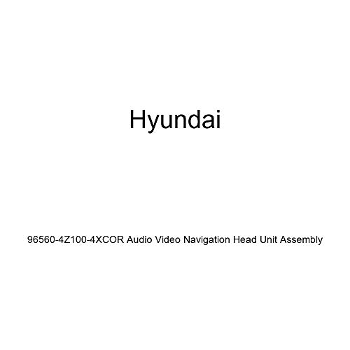 HYUNDAI Genuine 96560-4Z100-4XCOR Audio Video Navigation Head Unit Assembly