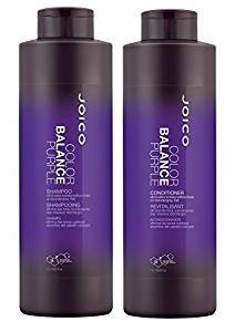 Joico Color Balance Purple Shampoo and Conditioner 33.8 oz Duo