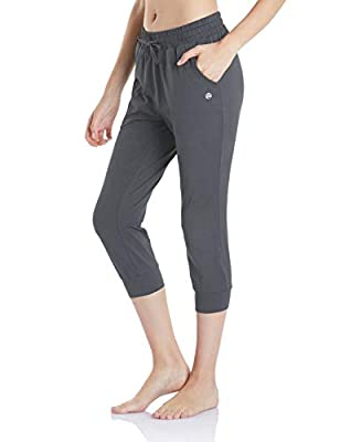 TSLA Women's Yoga Tapered Athletic Lounge Pants Capri FBP70 / FBC50