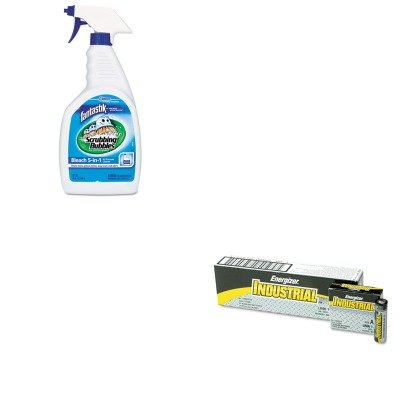 kitdracb716318eveen91-value-kit-fantastik-all-purpose-cleaner-with-bleach-dracb716318-and-energizer-