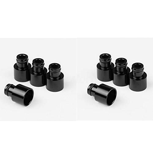 8x Fuel Injector Top Hat Adapter For Honda Civic B D Series B16 B18 D16 Engine