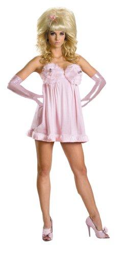 [Fembot Sassy Deluxe Costume (8-10)] (Fembot Halloween Costumes)