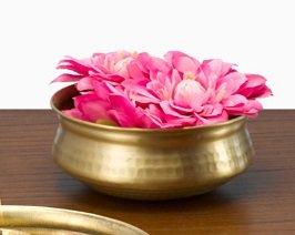 brass flower pot - 5