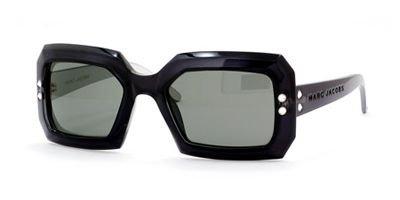 147 Sunglasses - Marc Jacobs 147 Black Silver / Smoke Sunglasses