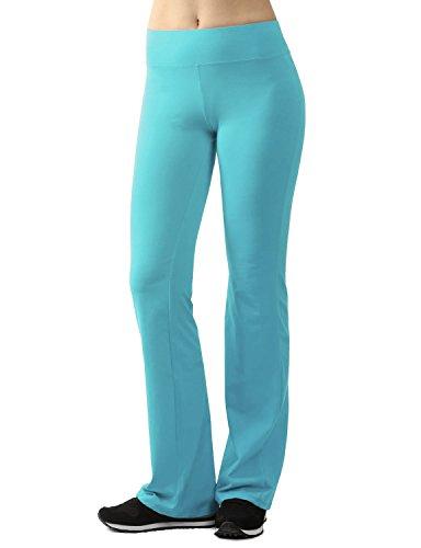 Womens flare yoga pants-1771