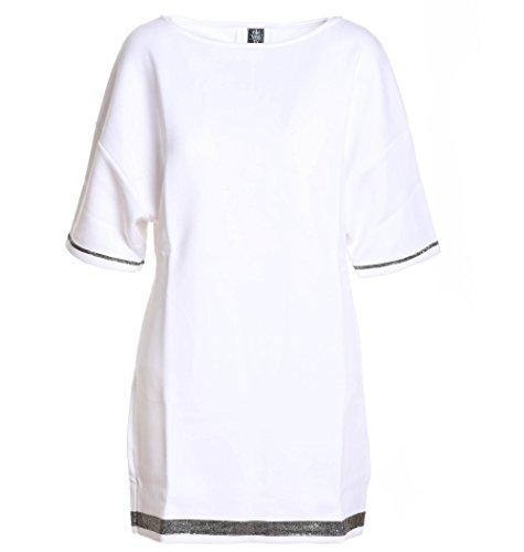 Donna Cotone 980fe0082fel2301301 Vestito Bianco Eleventy wTOWRq41n