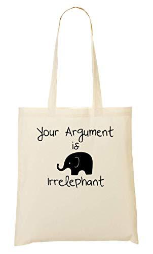 La De De Compra Bolso Irrelephant Bolsa Mano Argument Your Irrelevant Is AMS ngTRf4qw