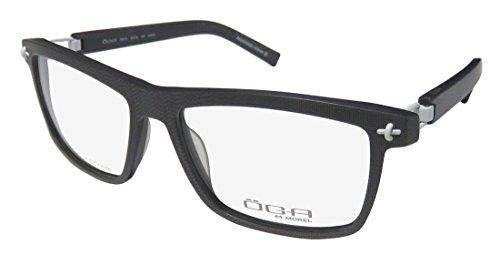 Oga By Morel 7951o For Men Designer Full-Rim Flexible Hinges Genuine Popular Shape European Hot Eyeglasses/Eyeglass Frame (56-16-130, Gray ()