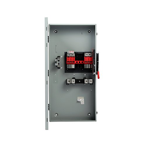 Siemens GF225NRA General Duty SAFETY Switch, Fusible, 2 Pole, 240 Volt, 400 Amp, Outdoor Rated by SIEMENS (Image #1)