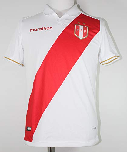 7c53d3e8c Jersey Peru COPA America 2019 Home ESTADIO Marathon Original PRODUCTO  Oficial (Medium) White