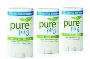 Pure Pitz by Purely Lisa Organic & purely natural deodorant (3 PACK) by Purely Lisa (Image #1)