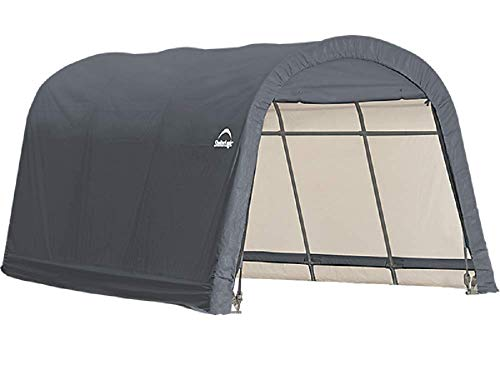 ShelterLogic Replacement Cover Kit 12x16x8 Round Gray Model 90535 (7.5oz Gray)
