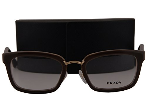 Prada PR09SV Eyeglasses 51-21-140 Opal Brown Beige Opal Brown UED1O1 VPR09S For - Spectacles Prada
