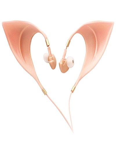 Price comparison product image Fasion Elf Ears Earphone Headset Hot Spirit Fairy Headphones Anime Prop Buds