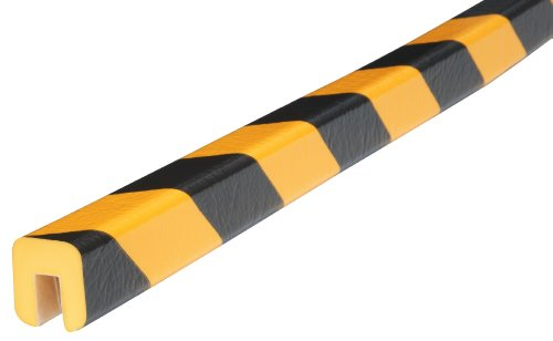 IRONguard 60-6762 Knuffi Model G Edge Bumper Guard Black/Yellow 1M by IRONguard