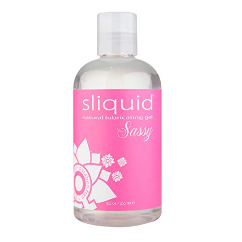 Lube Water Lubricating Gel Based - Sliquid Naturals Sassy Lubricating Gel, 8.5 Ounce