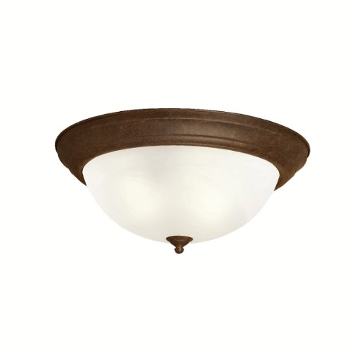 Kichler 8110TZ Three Light Flush Mount