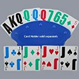 Low Vision Playing Cards - Poker Size