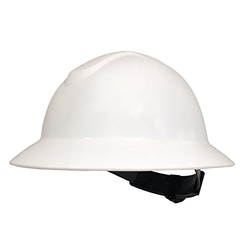 Valeo Industrial VI9652YH ANSI Z89.1 Type 1 Class C, G & E Hard Hat HDPE, White ()