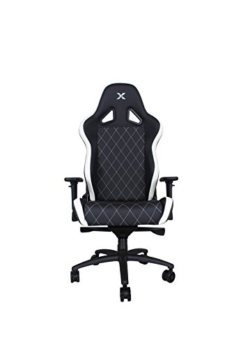 Ferrino XL White on Black Gaming and Lifestyle Chair by RapidX