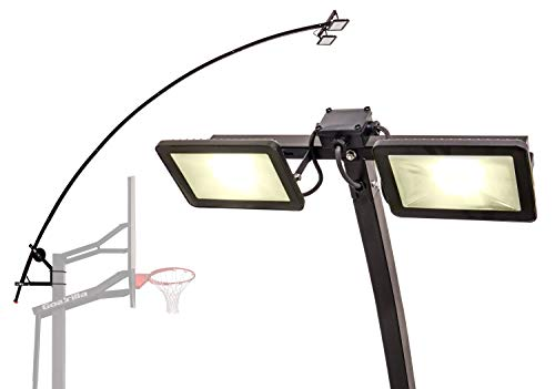 Goalrilla LED Basketball Hoop Light Illuminates backboard, Rim, and Court and Fits All Goalrilla and Other In-Ground Hoops (Best 9th Grade Basketball Player)