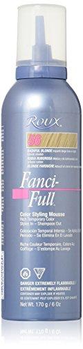 Roux Fanci-Full Mousse, 56 Bashful Blonde, 6 Fluid Ounce