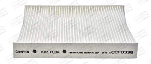 Particulate Replaces 08R79ST3600,79831S04003,79831ST3E01,79831ST3EC1,JKX100010 CHAMPION CCF0336 Cabin Filter Pollen