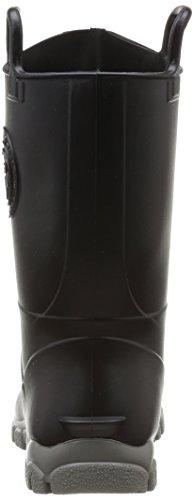 Boatilus Ducky, Unisex - Kinder Stiefel & Stiefeletten Schwarz - Noir (Noir Réglisse/Gris)
