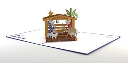 Lovepop Nativity Pop Up Card