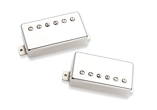 (Seymour Duncan Seth Lover Set Nickel Electric Guitar Electronics)