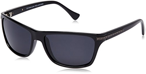 Daniel Klein Rectangular Sunglasses (Black) (DK3010-Col1|60)