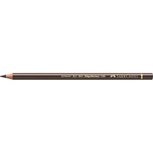 Faber-Castell Polychromos Artists' Single Pencil - Colour 280 Burnt Umber