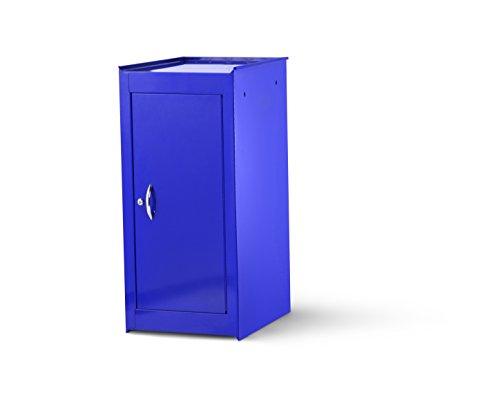 International VRS-4200BU 15-Inch Blue Half Locker Side Cabinet with 1 Adjustable Shelf by SPG International