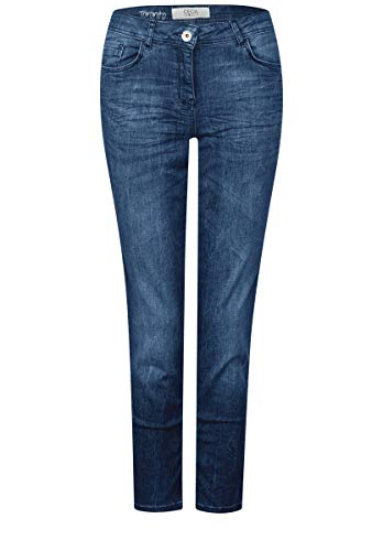 Used Blue Wash Light Cecil blau Vaqueros Mujer Para qxHnSX6