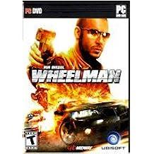 High Quality Ubi Soft Wheelman-Vin Diesel Games Action Arcade Shooters Ultimate Thrill Ride Windows Xp Vista
