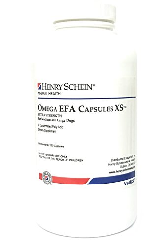 Omega EFA Capsules XS For Medium & Large Dogs, 250 Capsules