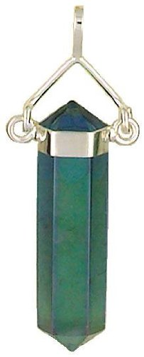 Amazon aqua aura quartz natural healing crystal point set in aqua aura quartz natural healing crystal point set in sterling silver 925 pendant aloadofball Images