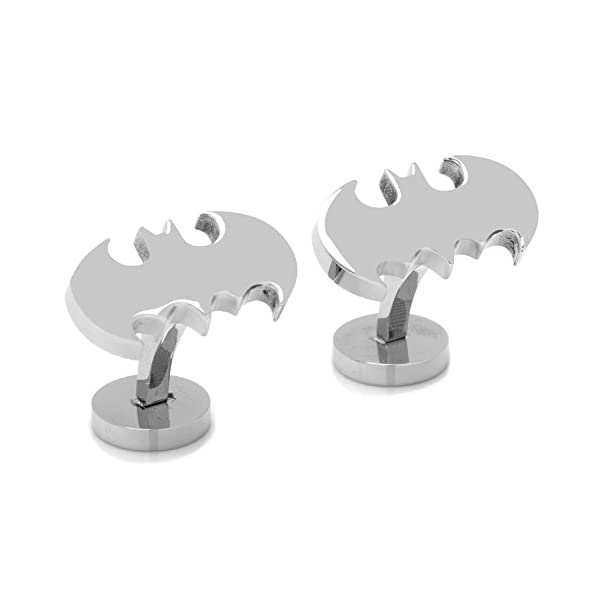 DC-Comics-Mens-Stainless-Steel-Batman-Cufflinks-DC-BAT-STL