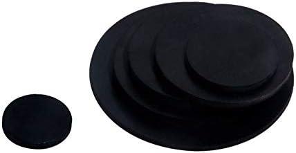 F-MINGNIAN-SPRING 10pcs gomma nera piatto Guarnizione Plain Cuscino solido di tenuta in gomma anello di guarnizione 10 millimetri ~ 50 millimetri OD NBR piatto guarnizione dellanello Rondella