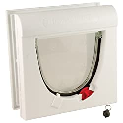 Petsafe Staywell 4-way Locking Magnetic Cat Flap, White