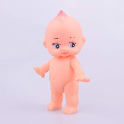Detectorcatty Soft Rubber Doll Bath Baby rotatable Head and Limbs