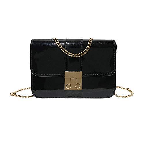 Women Fashion Vintage Crossbody Ladies Bag Handbag Messenger Satchel Robemon Clutches Casual Small Chain C Black Shoulder q8Ytxzq