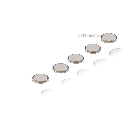 Duracell DL2032 Lithium Button Cell Battery Pack of 5
