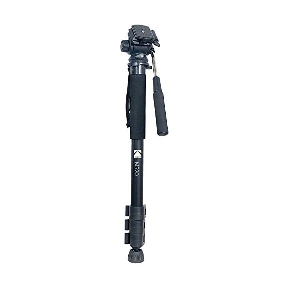 RetinaPix KODAK M520 170cm 66.92inches 3 Way Pan Movement 4 Section Support Monopod for Cameras