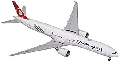Gemini200 Turkish Airlines B777-300ER TC-Jjt 1:200 Scale Model Airplane Die Cast Aircraft