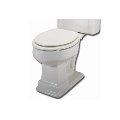Elizabethan Classics ECETRFBBI English Turn Round Front Toilet Bowl, Bisque by Elizabethan Classics